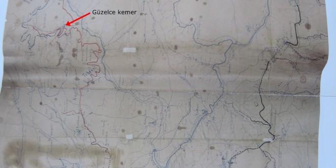 Osmanlı dönemi haritasında Sultangazi Mimar sinan
