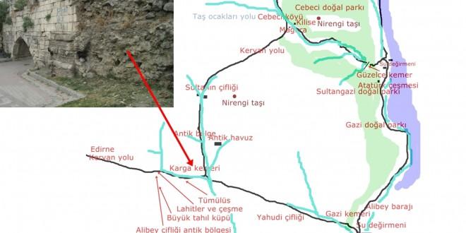 Karga kemeri haritası
