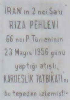 23 mayıs 1956 Şah Rıza Pehlevi anıtı